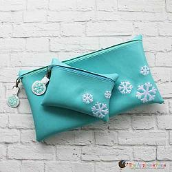 In the Hoop Snowflake Bag
