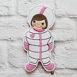 Puppet - Astronaut Girl (finger size)