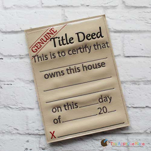 ITH - Title/Deed