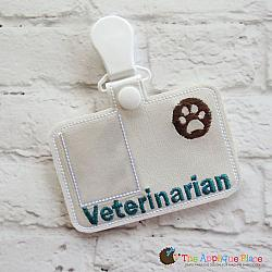 ITH - Veterinarian Badge ID Tag