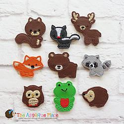Felties - Woodland Animals - Set of 9