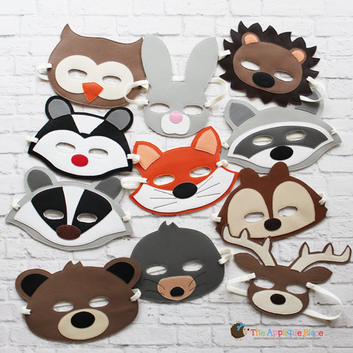 Masks - Woodland Animal Set
