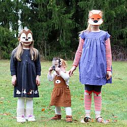 Masks - Woodland Animal Set