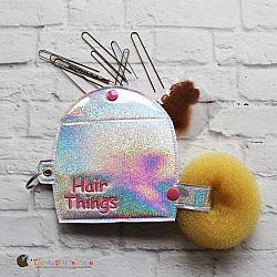 Key Fob - Hair Things Case - X-Large (Eyelet)