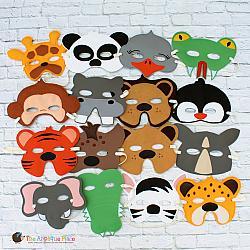Masks - Zoo Animals
