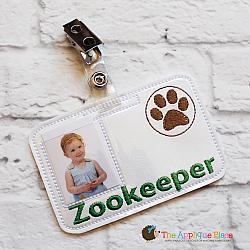 ITH - Zookeeper Badge ID Tag