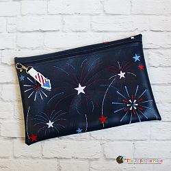 Pretend Play - ITH - Fireworks Bag and Rocket Bag Tag