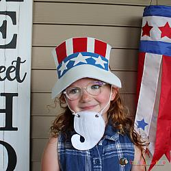 Pretend Play - ITH - Uncle Sam Goatee