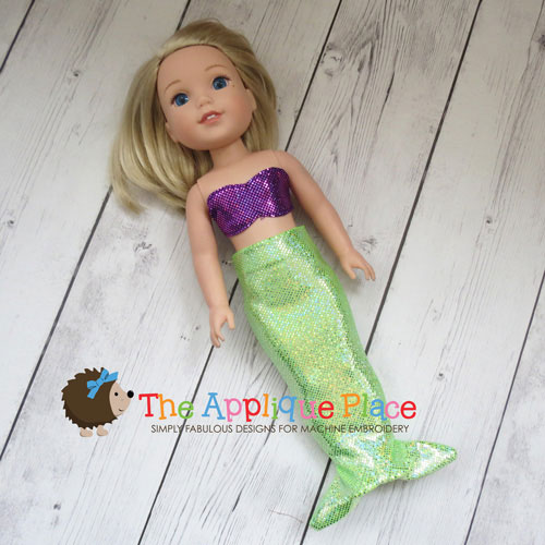 Doll Clothing - 14 Inch Doll Mermaid Outfit