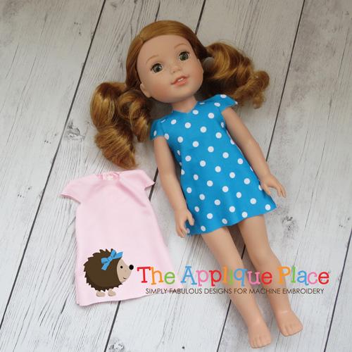 Doll Clothing - 14 Inch Doll Tunic
