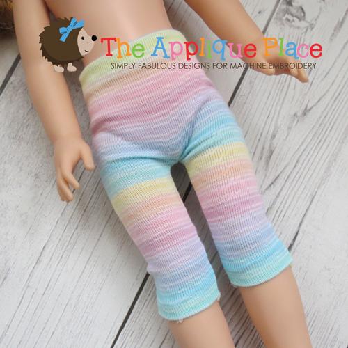 Doll Clothing - 14 Inch Doll Capri Leggings