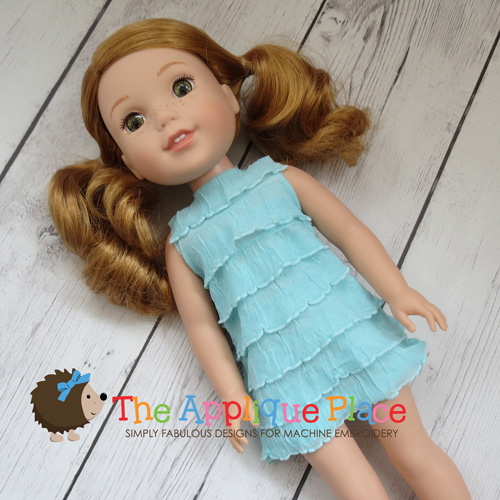 Doll Clothing - 14 Inch Doll Flare Tank