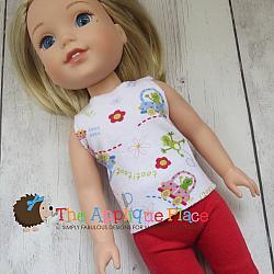 Doll Clothing - 14 Inch Doll Tank