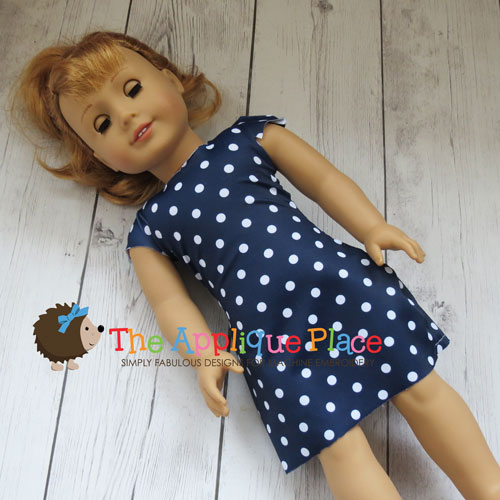 Doll Clothing - 18 Inch Doll Simple Dress