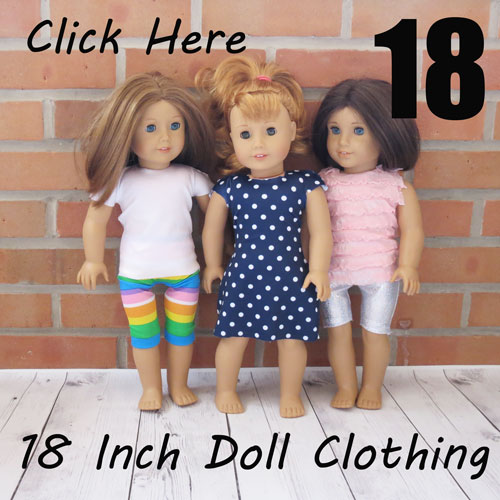 18 Inch Doll Clothing
