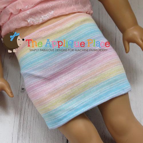 Doll Clothing - 18 Inch Doll Mini Skirt
