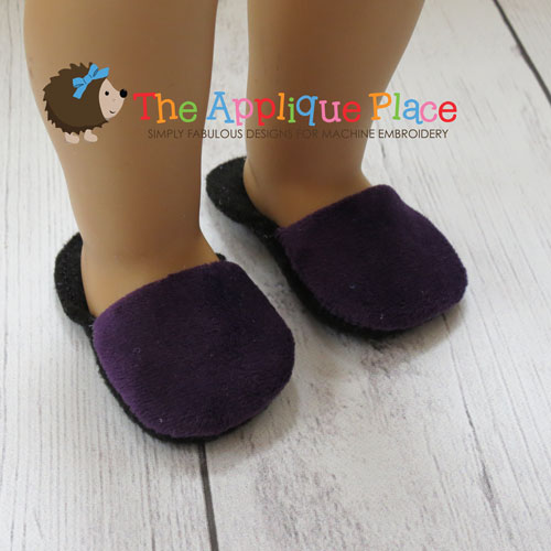 Doll Clothing - 18 Inch Doll Slippers