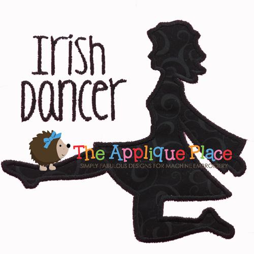 Irish Dancer Silhouette