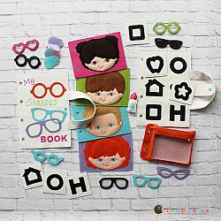 Quiet Book - Glasses