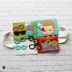 Quiet Book - Glasses