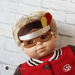 Doll Masks - Thanksgiving