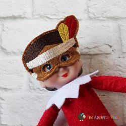Doll Mask - Native American Boy