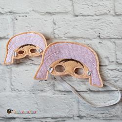 Elf Clothing - Doll Mask - Pilgrim Girl