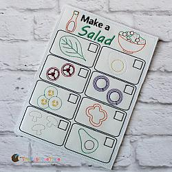 Pretend Play - ITH - Salad Menu