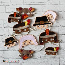 Elf Clothing - Doll Masks - Thanksgiving