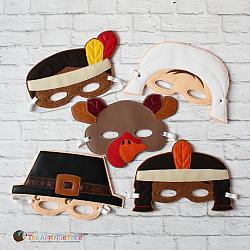 Masks - Thanksgiving