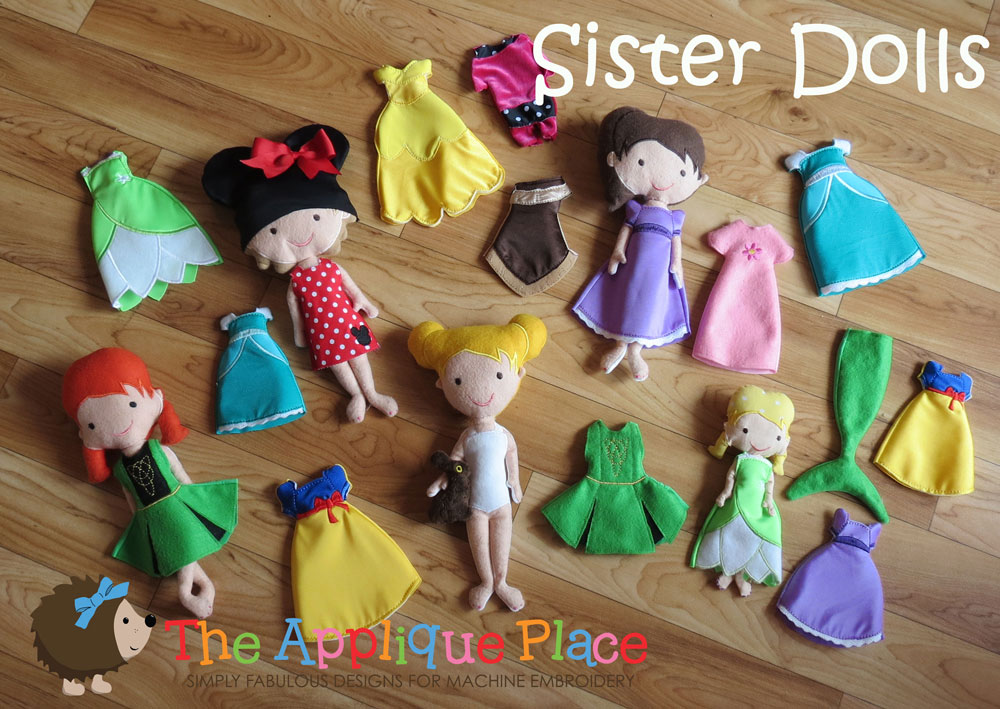 ITH Sister Dolls