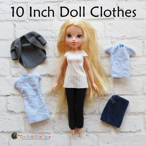 10 Inch Doll Clothing