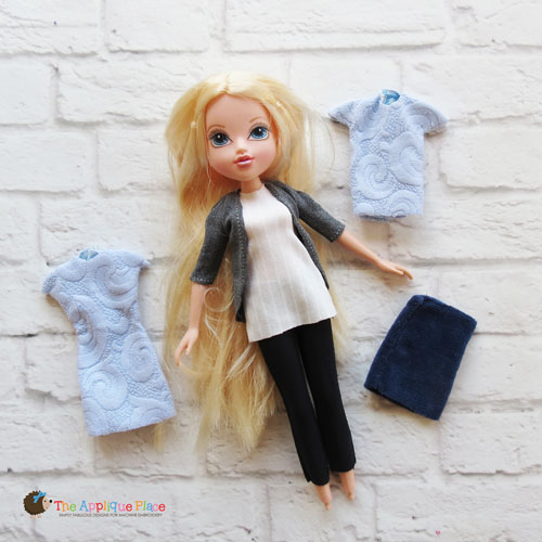 -10 Inch Doll Clothing Set - Simple Collection