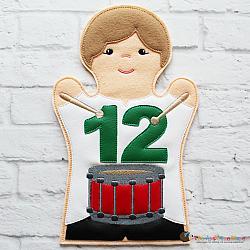 Puppet - Drummer Drumming