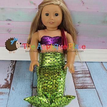 Doll Clothing - 18 Inch Doll Mermaid Outfit