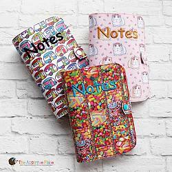 Notebook Holder - Notebook Case - 5x7 Notebook (non-spiral-bound)