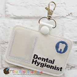 Pretend Play - ITH - Dental Hygienist Badge ID Tag