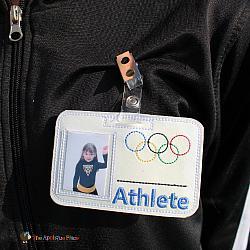 Pretend Play - ITH - Athlete Badge ID Tag