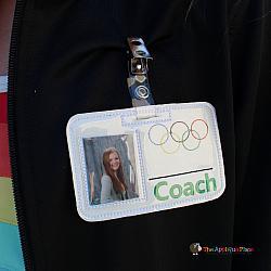 Pretend Play - ITH - Coach Badge ID Tag