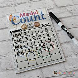 Pretend Play - ITH - Medal Count Sheet