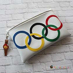 Pretend Play - ITH - Olympic Rings Bag and Torch Bag Tag
