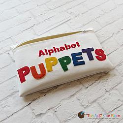 In the Hoop Alphabet Puppet Bag