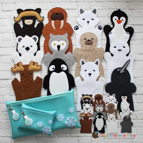 Puppet Set - Arctic Animals