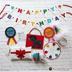 Pretend Play - ITH - Birthday Set