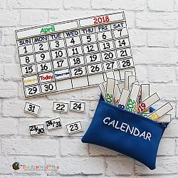 Pretend Play - ITH - Calendar Set