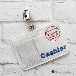 Pretend Play - ITH - Cashier Badge ID Tag