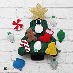 Felties - Christmas Tree - Set of 10 PLUS Bag