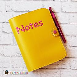 Notebook Holder - Notebook Case - Cover for 5x7 Spiral Bound Notebook