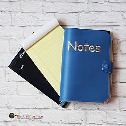 Notebook Holder - Notebook Case - Cover for Junior Legal Pad