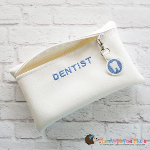 Pretend Play - ITH - Dentist Bag and Bag Tag